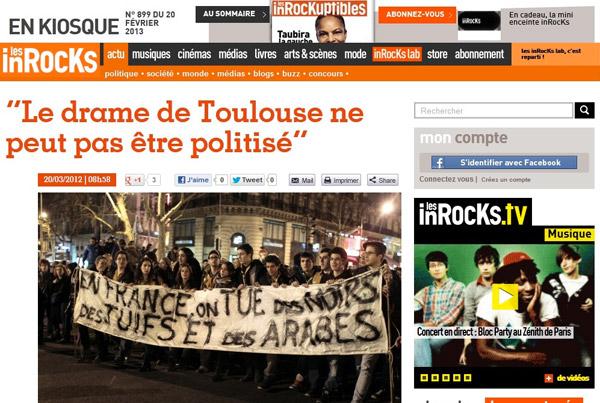 « En France, on tue des noirs, des juifs et des arabes »
