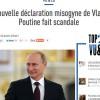 « Une traduction manipulée et Vladimir Poutine devient misogyne »