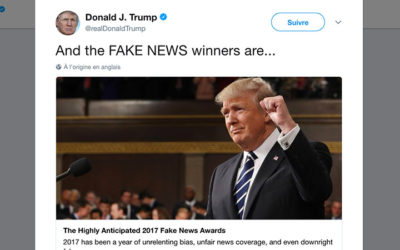 Fake news awards : Et Donald Trump remit les Golden Bobards !