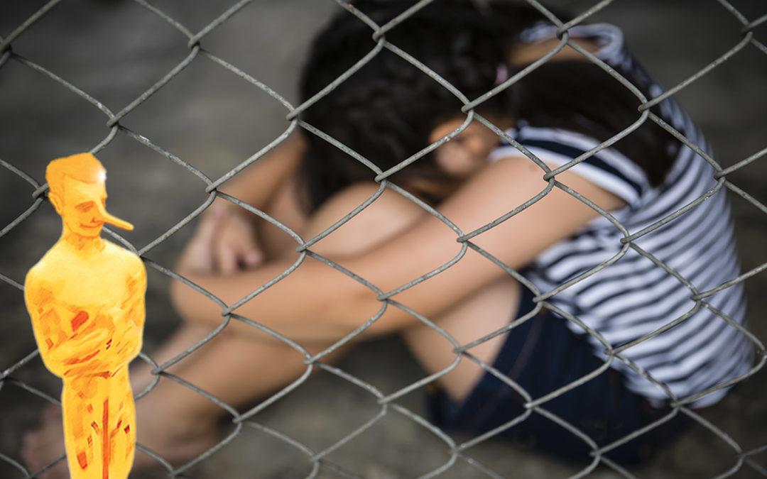 Bobard «ogre»: Trump fait enfermer des enfants immigrés dans des cages