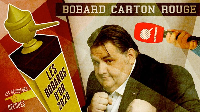 Bobard Carton rouge